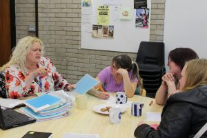 Tenants achieving childcare qualifications a